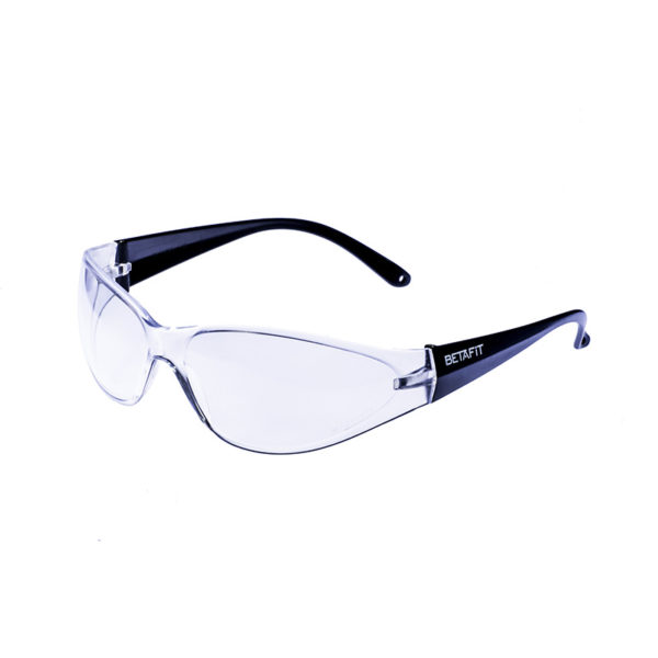 Riva, Clear Anti-Scratch Safety Eyewear | BETAFIT PPE Ltd