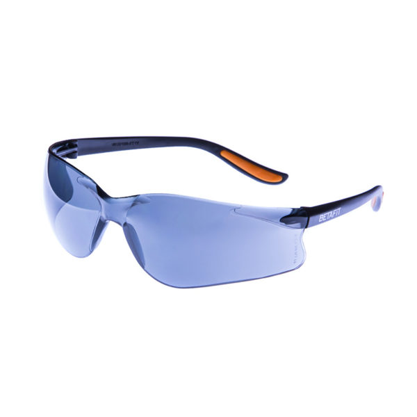 Merano, Smoke-Grey Anti-Scratch Safety Eyewear | BETAFIT PPE Ltd