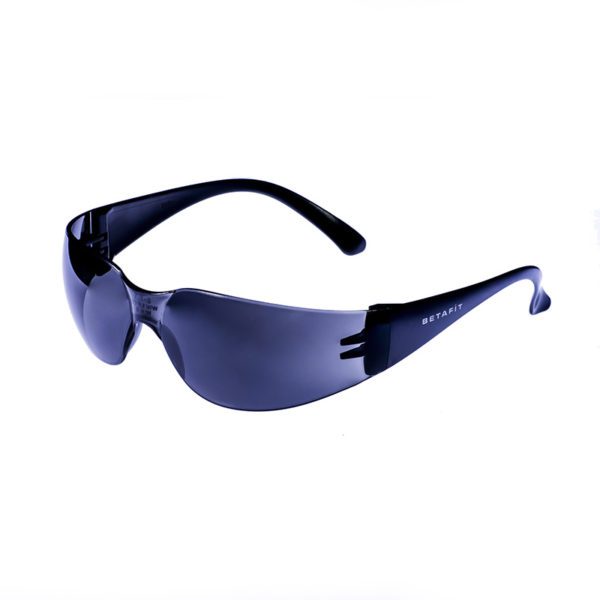 Geneva, Smoke-Grey Anti-Scratch Safety Eyewear | BETAFIT PPE Ltd