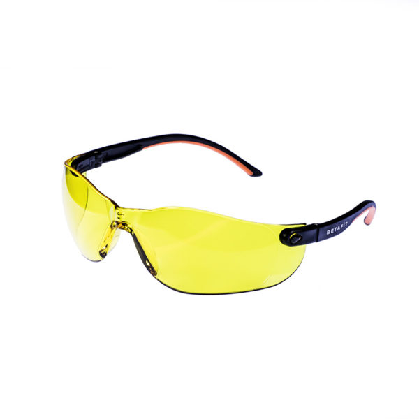 Montana, Amber Anti-Scratch Safety Eyewear   BETAFIT PPE Ltd