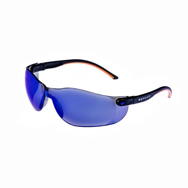 Montana, Blue Mirror Anti-Scratch Safety Eyewear | BETAFIT PPE Ltd