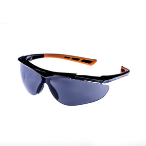 Lucerne Smoke-Grey Anti-Scratch Safety Eyewear | BETAFIT PPE Ltd