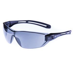 Torino, Smoke-Grey Anti-Scratch Safety Eyewear | BETAFIT PPE Ltd