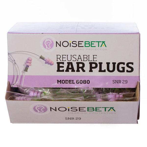 NoiseBETA Corded Reusable TPR Earplugs | BETAFIT PPE Ltd