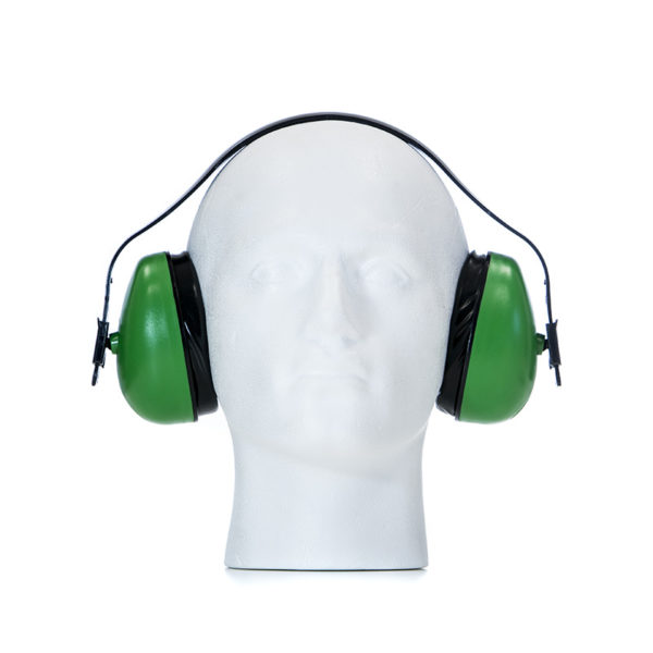 Safety Earmuff - SNR27 Standard, Green | BETAFIT PPE Ltd