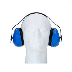 SNR27 Standard Earmuff - Blue SNR 27dB | BETAFIT PPE Ltd