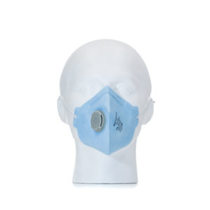 FFP2 Vertical Fold Flat Respirator With Valve | BETAFIT PPE Ltd