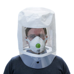Spare Test Hood - Clear Screen, Face Fit Testing | BETAFIT PPE Ltd