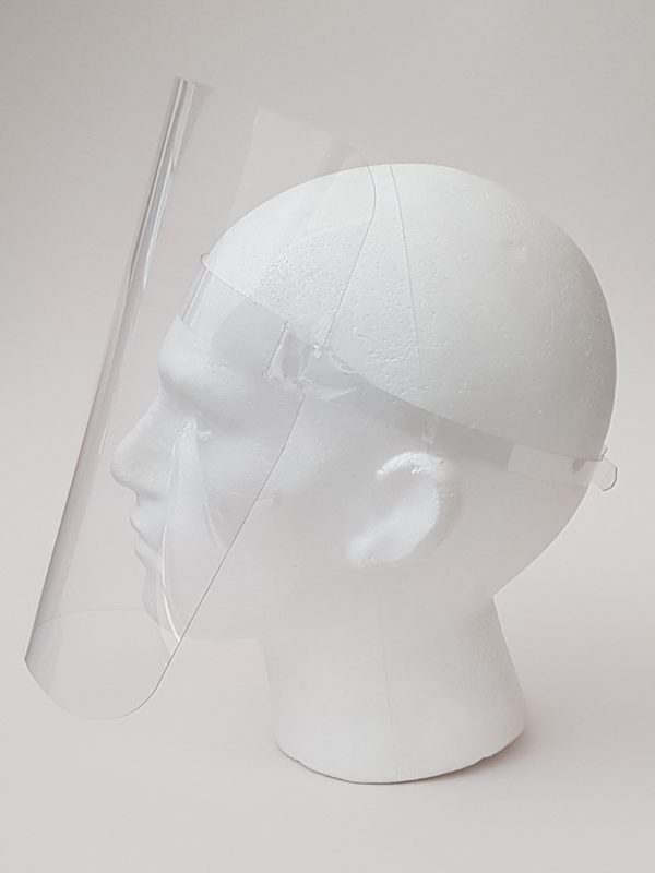 Reusable Clear Protective Face Shield (4)   BETAFIT PPE Ltd