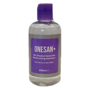 Antibacterial Hand Gel - ONESAN+ Alcohol Hand Sanitiser | BETAFIT PPE Ltd