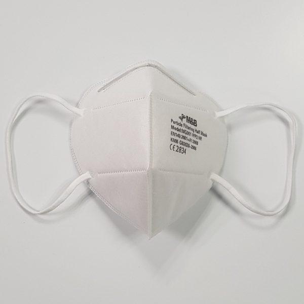 FFP2 Fold-Flat Disposable Respirator (3)   BETAFIT PPE Ltd