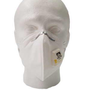 Trimmed Fold-Flat Disposable Respirator With Valve | BETAFIT PPE Ltd